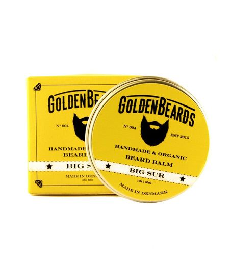Golden Beards Big Sur – skäggbalsam - 30ml