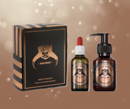 Beard Monkey - Beard oil and shampoo (sweet tobacco)