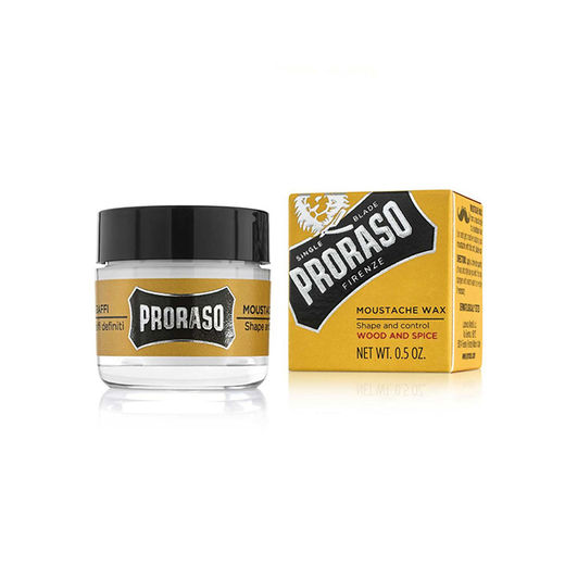 Proraso – mustaschvax Wood & Spice - 15ml