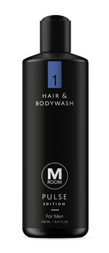 M Room Pulse Hair & Bodywash 250 ml