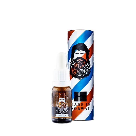 Angry Norwegian INCOGNITO skäggolja - 10ml