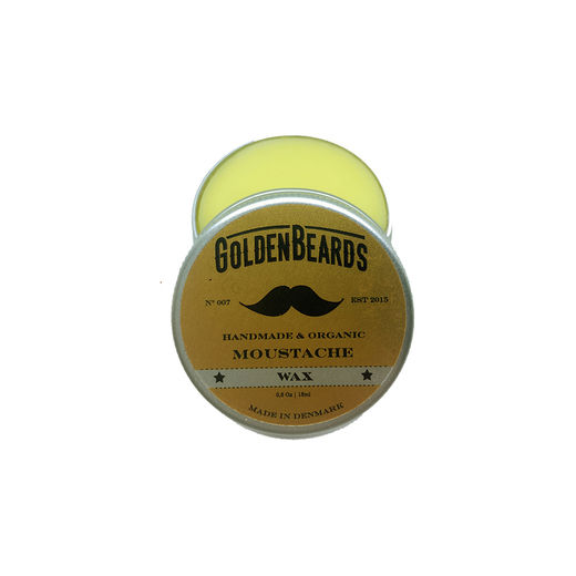 Golden Beards mustaschvax - 15ml